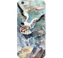 Breaking The Ice On Lake Constance iPhone Case/Skin
