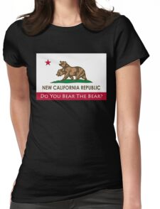 Do You Bear The Bear? - NCR Womens Fitted T-Shirt