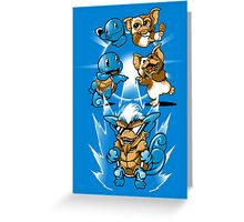 Mog Squirt Greeting Card