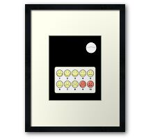 Hurt Scale Framed Print