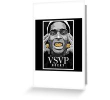 A$AP Rocky Greeting Card