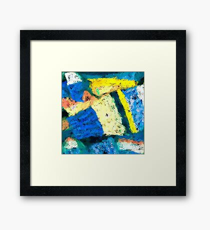Blue Cuff Framed Print