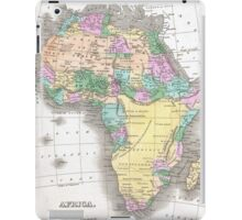 Vintage Map of Africa (1827)  iPad Case/Skin