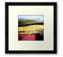 Stitching Paint Framed Print