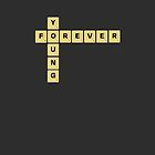 scrabble letters - forever young by benwllace159