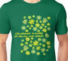 Cellophane flowers of yellow and green Unisex T-Shirt