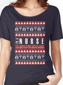 i'm a nurse christmas Women's Relaxed Fit T-Shirt