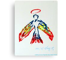 Looking up at an Angel by Darryl Kravitz 2014 Canvas Print