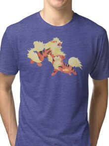 Fire Pawer Tri-blend T-Shirt