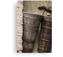 old basket Canvas Print