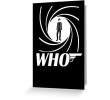Who Greeting Card