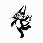 Dancing Batcat by blacklilypie