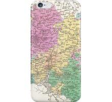 Vintage Map of Belgium (1827)  iPhone Case/Skin