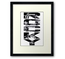 THE HISTORY Framed Print