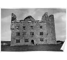 Leamaneh Castle, County Clare, Ireland. Poster