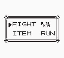 Pokémon Gameboy Menu Kids Tee