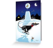 Snowman Zoomie Greeting Card