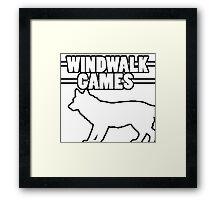 WindWalk Games Alternative Developer Logo Framed Print