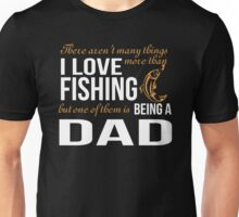 I AM A FISHING DAD T-SHIRT, HOODIE Unisex T-Shirt