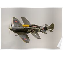 OFMC Spitfire & Mustang Poster