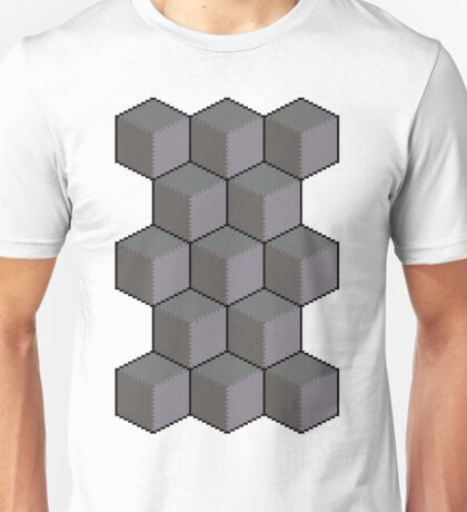 Un-colourful Cube Cascade Unisex T-Shirt