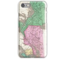 Vintage Map of Ontario and Quebec (1827) iPhone Case/Skin