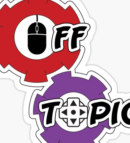 Off Topic Logo Sticker