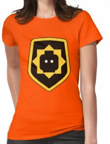 super secret police Womens Fitted T-Shirt