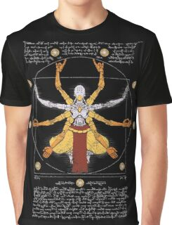 Vitruvian Omnic - color version Graphic T-Shirt