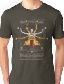 Vitruvian Omnic - color version Unisex T-Shirt