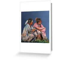 Pondering The Way Greeting Card