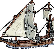 Clipper Ship by ImagineThatNYC