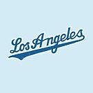 Los Angeles Baseball Logo by ixrid