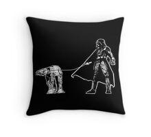 Darth Vader Walking ATAT Throw Pillow