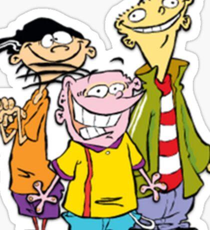 Ed, Edd, and Eddy Sticker
