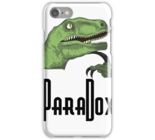 Paradoxical Philosoraptor  iPhone Case/Skin