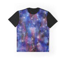 Galaxy beautiful night abstract sky image Graphic T-Shirt