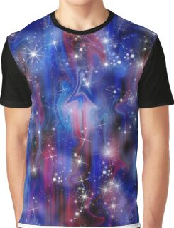 Galaxy beautiful night abstract sky image Graphic T-Shirt