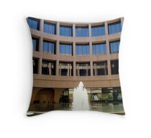 Hirshhorn Gallery &  Sculpture Garden- view 1 Throw Pillow
