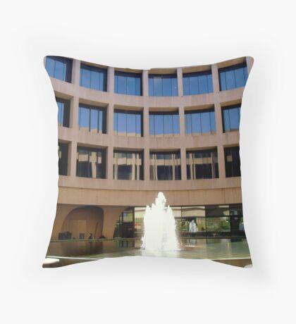 Hirshhorn Gallery &  Sculpture Garden- view 1 Throw Pillow
