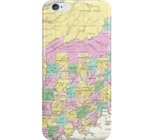 Vintage Map of Indiana (1827) iPhone Case/Skin