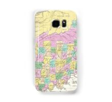 Vintage Map of Indiana (1827) Samsung Galaxy Case/Skin