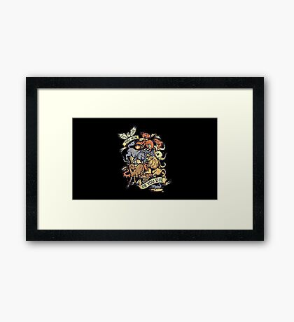 A Game of Thrones. Framed Print