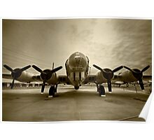 Boeing B-17 Flying Fortress Poster