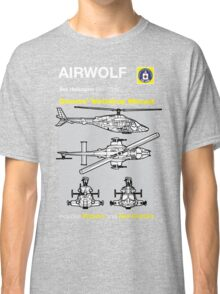 Owners' Manual - Airwolf - T-shirt  Classic T-Shirt