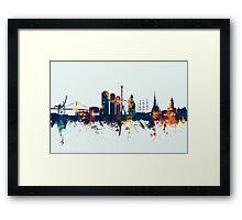 Gothenburg Sweden Skyline Framed Print