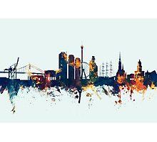 Gothenburg Sweden Skyline Photographic Print