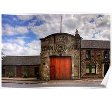Strathaven Town Mill Poster