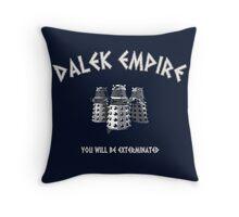 Dalek Empire (Doctor Who) Throw Pillow