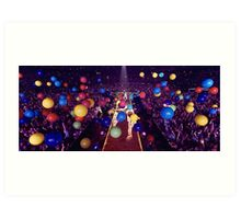 Coldplay - A Head Full Of Dreams tour Art Print